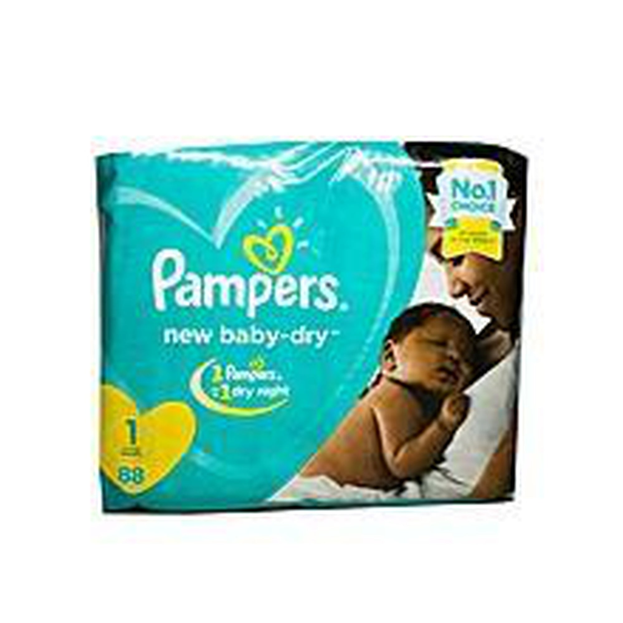 Pampers Diaper New Baby Dry Jumbo Pack S1 (2-5 Kgs) 88-Diapers-Mother and Baby Shop Kenya's #1 Online Baby Shop