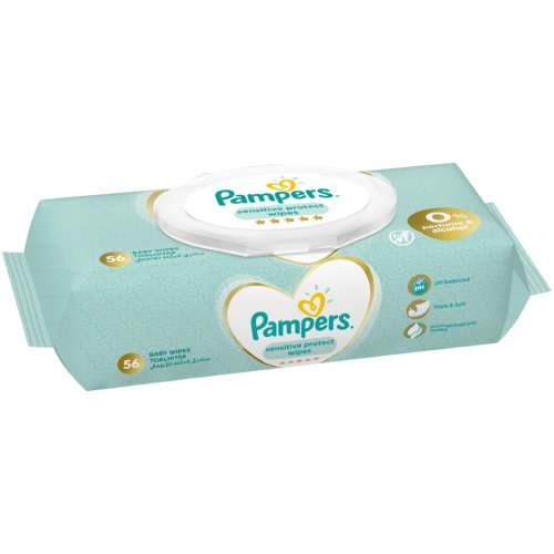 Pampers Sensitive 56s Wipes-Wipes-Mother and Baby Shop Kenya's #1 Online Baby Shop