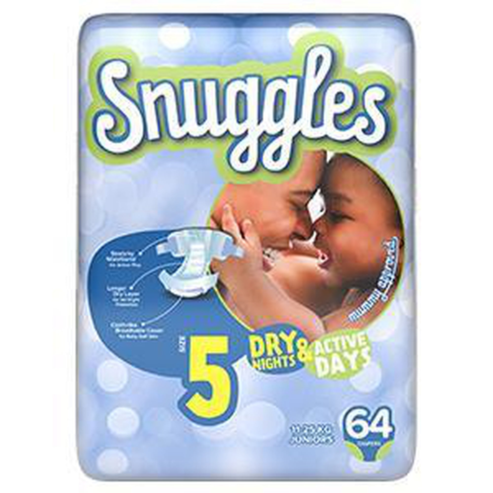 Snuggles Baby Diapers Junior (Size 5) 11-25Kg, Jumbo Pack 64s-Diapers-Mother and Baby Shop Kenya's #1 Online Baby Shop