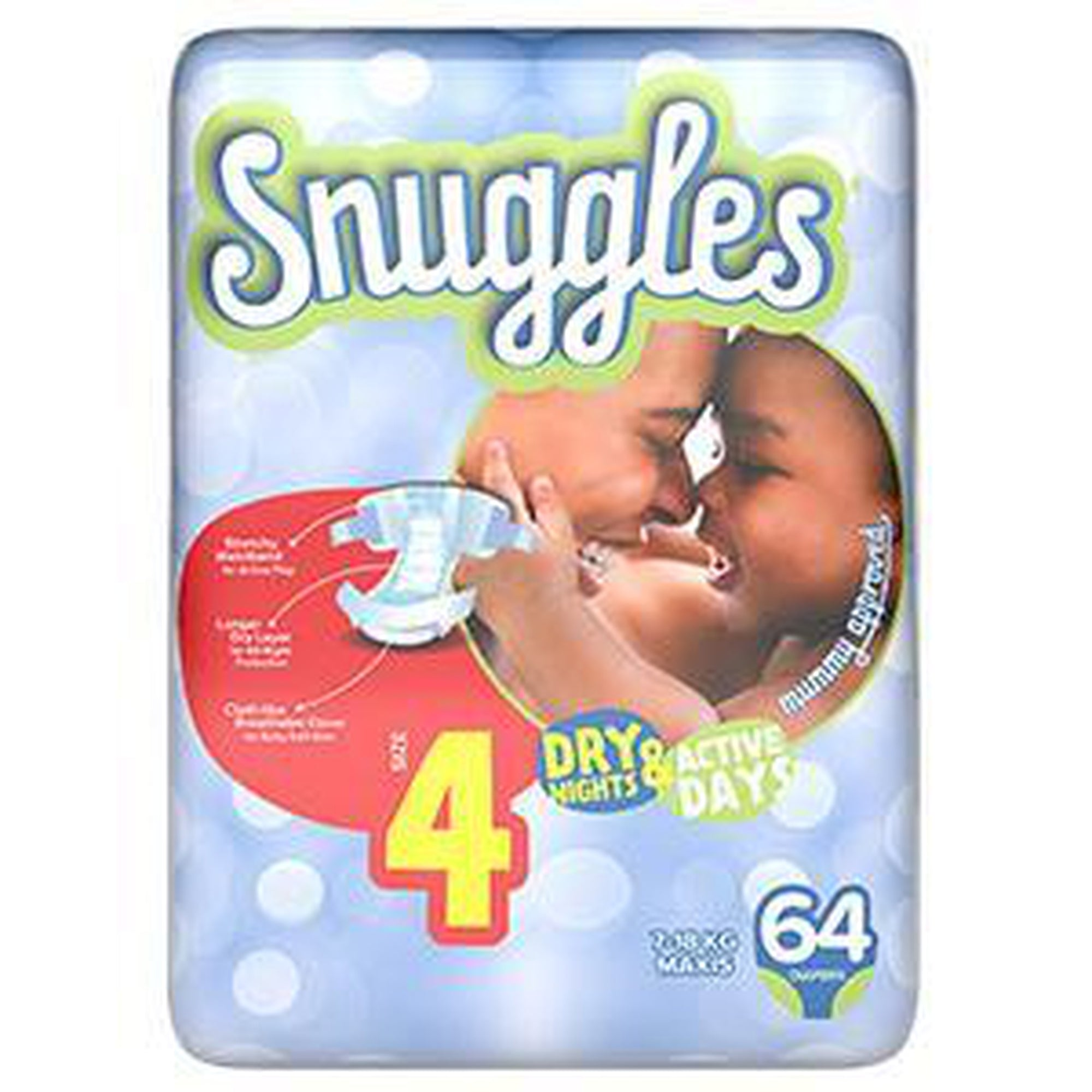 Snuggles Baby Diapers maxi (Size 4) 7-18Kg Jumbo Pack 64s-Diapers-Mother and Baby Shop Kenya's #1 Online Baby Shop