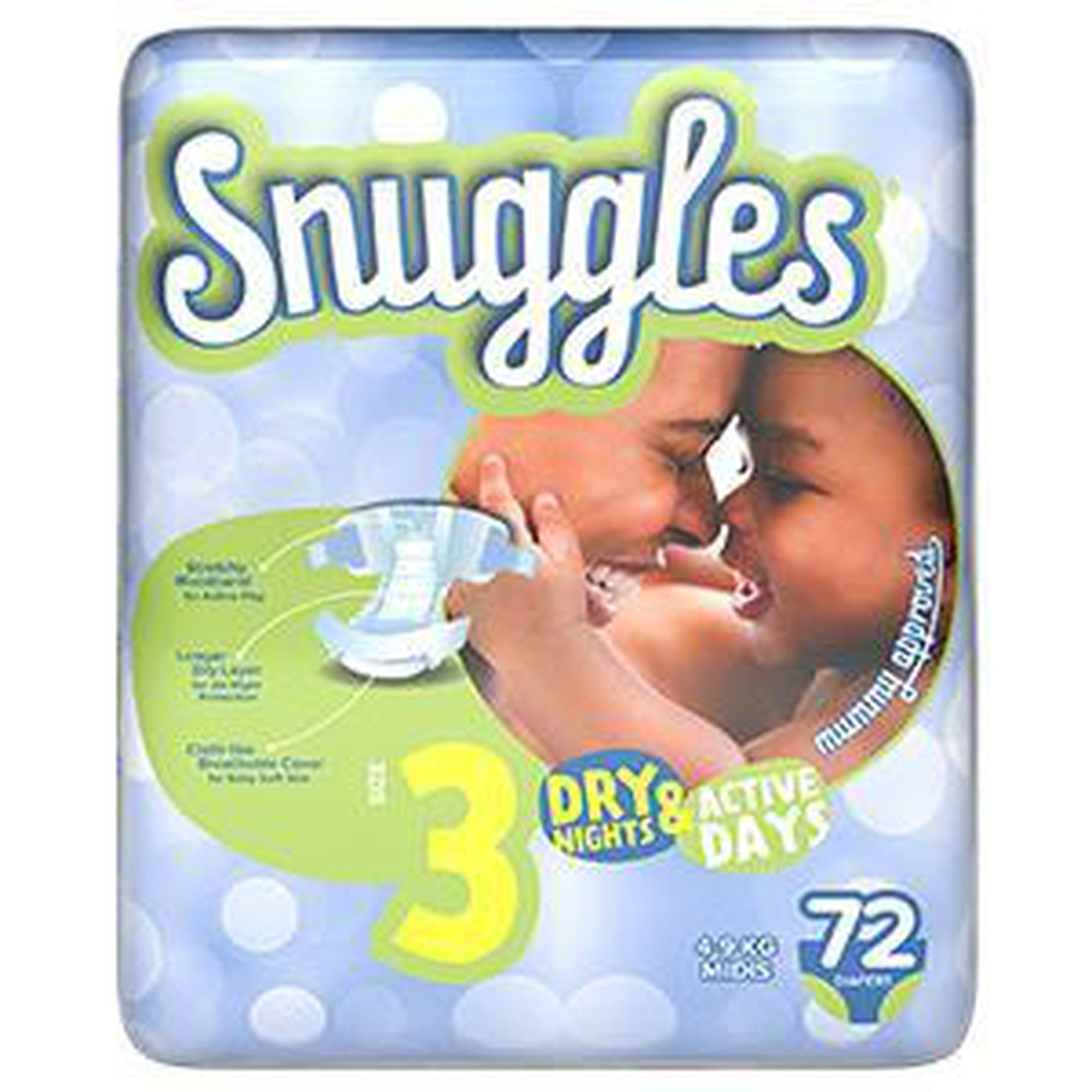 Snuggles Baby Diapers midi (Size 3) 4-9 Kg,Jumbo Pack 72s-Diapers-Mother and Baby Shop Kenya's #1 Online Baby Shop