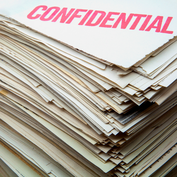 Confidential Shredding Sack
