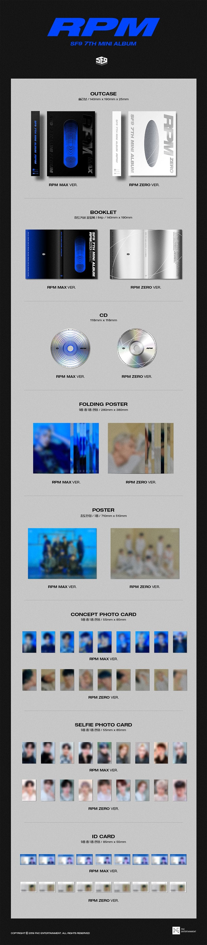 Image result for sf9 rpm posters