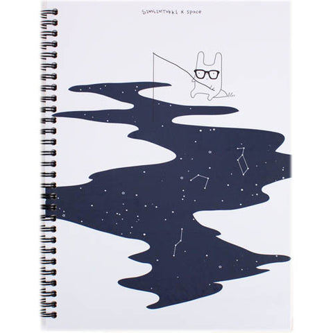 SIMSIMTOKI X SPACE HARDCOVER NOTE