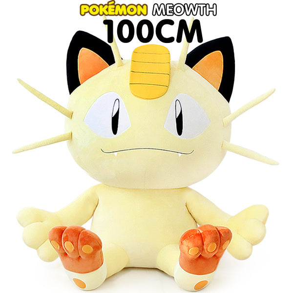 POKEMON GIANT MEOWTH 100CM