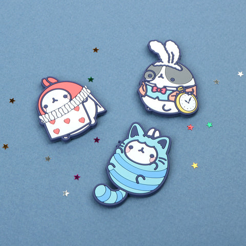 Molang Wonderland Magnet Set (3pc)