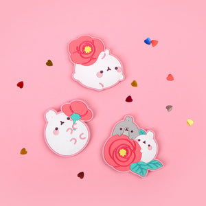 Molang Flower Magnet (1pc)