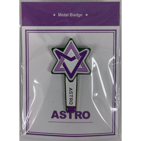 Astro Metal Badge