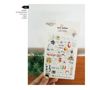 Suatelier `Reminisce` Stickers