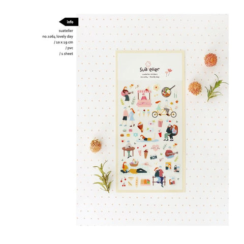 Suatelier `Lovely Day` Stickers