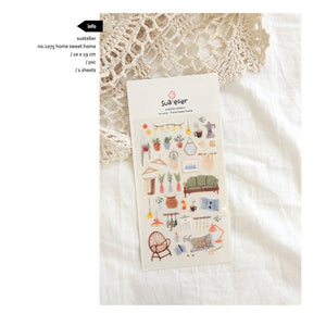 Suatelier `Home Sweet Home` Stickers