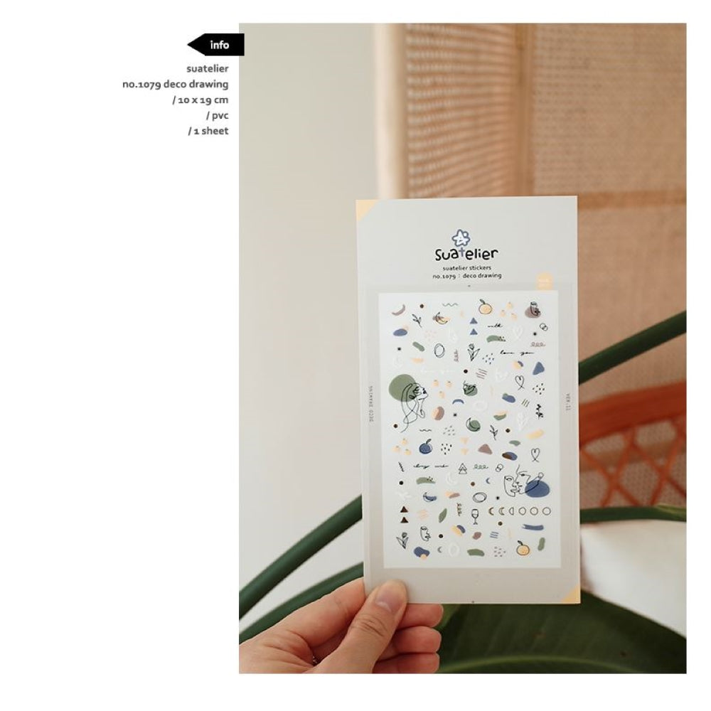 Suatelier `Deco Drawing` Stickers