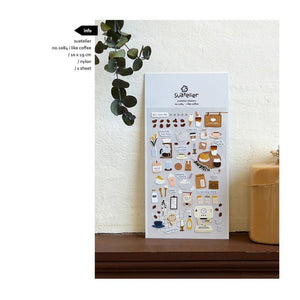 Suatelier `I Like Coffee` Stickers