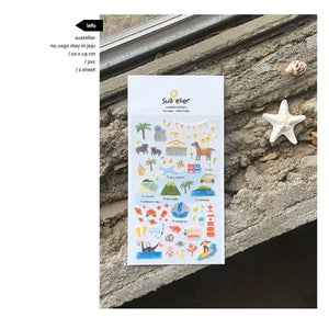 Suatelier `Stay in Jeju` Stickers