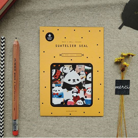 Suatelier SEAL `Lovely Panda` Stickers
