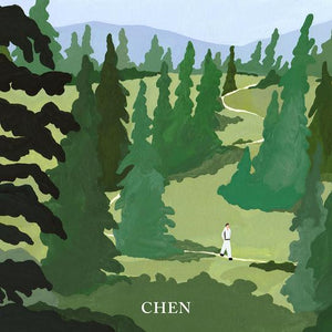 CHEN (EXO) 1ST MINI ALBUM 'APRIL, AND FLOWER' + POSTER
