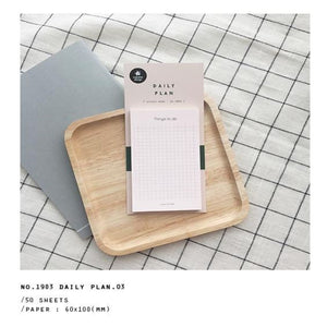 Suatelier Design Daily Plan Sticky Memo 03
