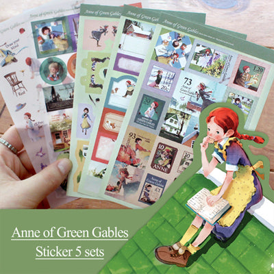 Anne of Green Gables Story Sticker Set