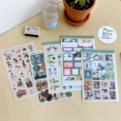 anne-of-green-gables-story-sticker-set