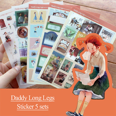 Daddy Long Legs Story Sticker Set
