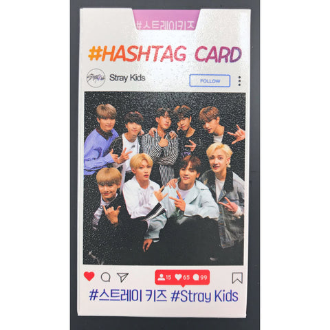 STRAY KIDS Hashtag Card