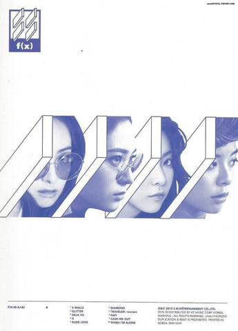 F(X) 4TH ALBUM '4 WALLS'
