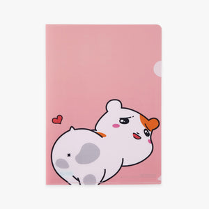 Ebichu File Holder A4 - Pink