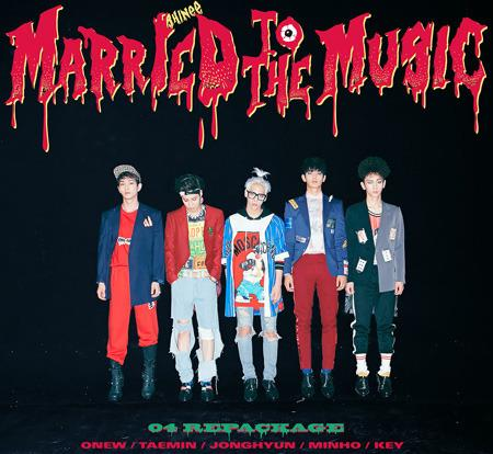 SHINEE REPACKAGE ALBUM VOL.4 - MARRIED TO THE MUSIC
