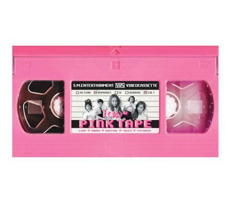 F(X) 2ND ALBUM 'PINK TAPE'
