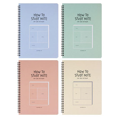 How to Study Grid Notebook