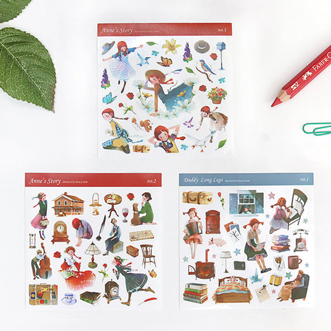 Anne of Green Gables Sticker Set