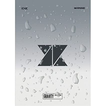 KNK 2ND MINI ALBUM 'GRAVITY, COMPLETED' [REPACKAGE]