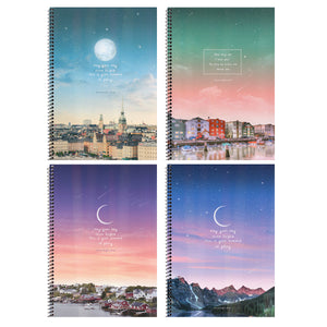 Sunset A5 Spring Notebook