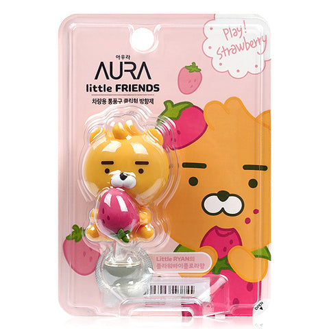 Kakao Friends Auto Vent Air Freshener Ryan Strawberry