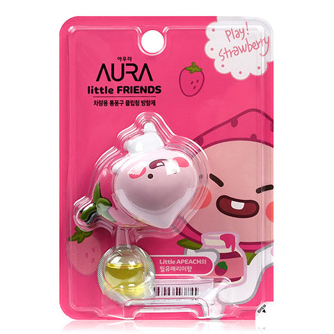 Kakao Friends Auto Vent Air Freshener Apeach