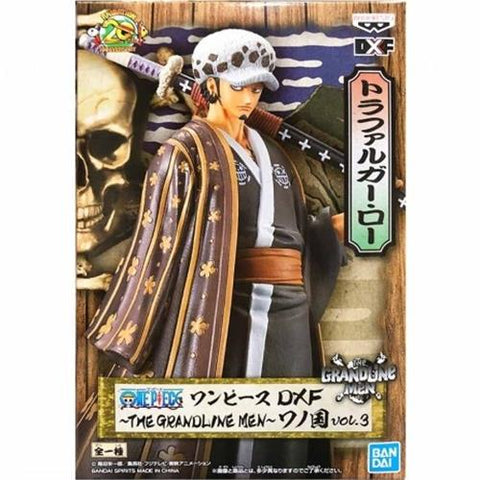ONE PIECE THE GRANDLINE MEN VOL.3 DXF - TRAFALGAR LAW FIGURE