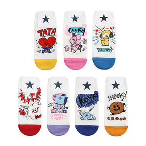 BT21 Sneakers Socks