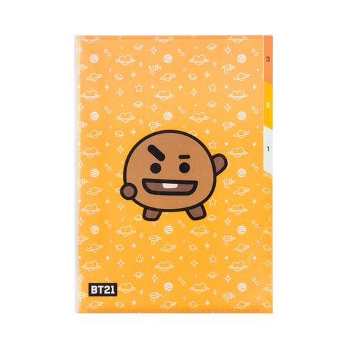 [BT21] 3 POCKET FILE FOLDER / SHOOKY
