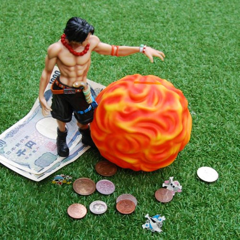 One-Piece Figure Coin Bank ACE