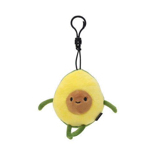 Avocado Mini Plush Key Chain Bag Decoration 4 Inch Backpack Clip