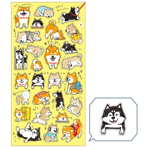 Mind Wave Japan SEAL Collection Stickers (Shibanban [ 77843 ])