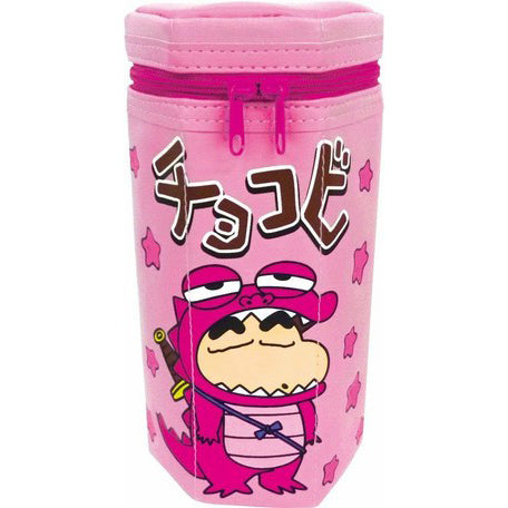 Crayon Shin Chan Chocolate Pencil Case - Pink