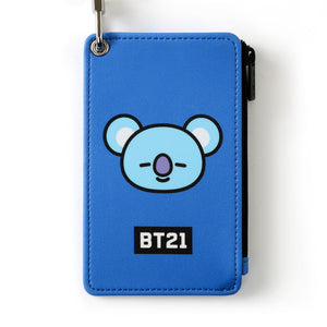 [BT21] STRAP CARD HOLDER / KOYA