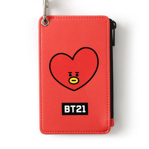 [BT21] STRAP CARD HOLDER / TATA