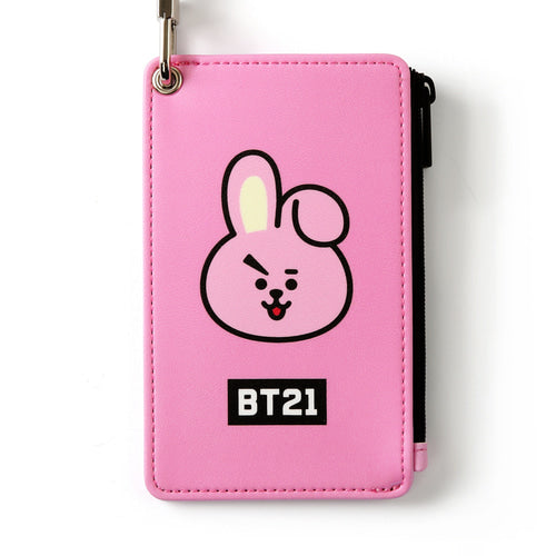 [BT21] STRAP CARD HOLDER / COOKY