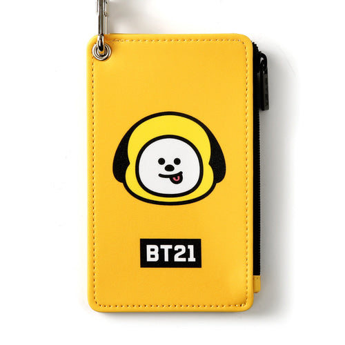 [BT21] STRAP CARD HOLDER / CHIMMY