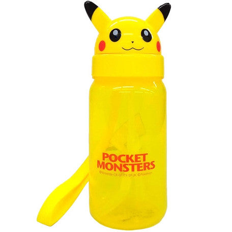Pocket Monsters Die Cut Straw Blow Bottle 350ml