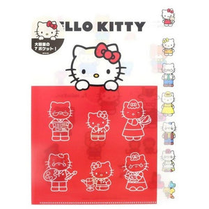 HELLO KITTY FILE FOLDER (7 POCKET)