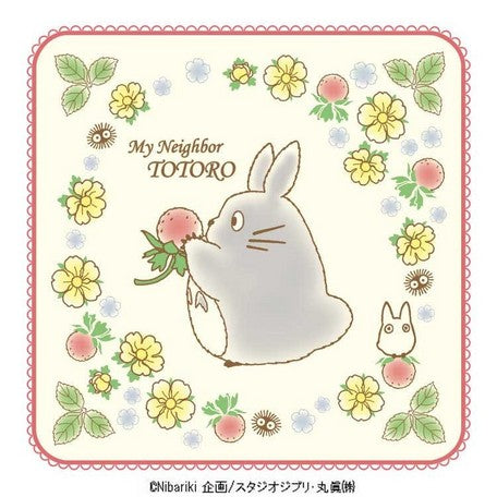 [ My Neighbor Totoro ] Mini Towel (Red いfield Strawberry )