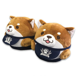 Mochishiba Soft Toy Slippers